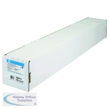 HP White Coated Inkjet Paper A1 594mm Continuous Roll 90gsm Q1445A