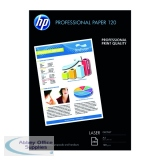 HP White A4 Professional Glossy Laser Paper 120gsm (250 Pack) CG964A