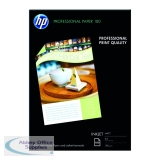 HP White A4 Professional Matte Inkjet Paper (100 Pack) Q6592A