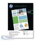 HP White A4 Professional Matte Inkjet Paper 120gsm (200 Pack) Q6593A