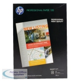 HP White A3 Professional Matte Inkjet Paper 120gsm (100 Pack) Q6594A