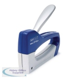 Rapesco Blue and Silver Mini Z T-Duo Tacker 0954