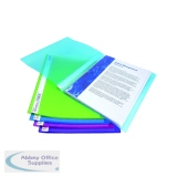 Rapesco Flexi Display Book 20 Pocket A4 Bright Assorted (10 Pack) 0916