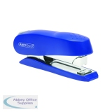 Rapesco Luna Heavy Duty Blue Half Strip Stapler 0237