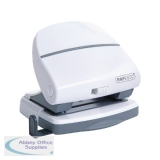 Rapesco P30 Hole Punch White 1274