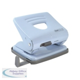 Rapesco 825 2 Hole Metal Punch Powder Blue 1359