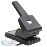 Rapesco 865-P Heavy Duty Hole Punch Black PF865PB2