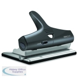 Rapesco Black 95 Adjustable Heavy Duty Punch PF95G2B2