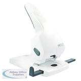 Rapesco Zero-65 Heavy Duty Hole Punch White 1383