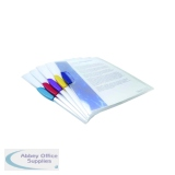 Rapesco Pivot Clip Files A4 Assorted (5 Pack) 0786
