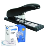 Rapesco ECO HD-100 Stapler Black FOC 923/12mm Staples HT810937
