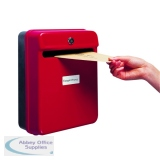 Helix Red Post/Suggestion Box W81060