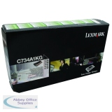 Lexmark C734DN Return Programme Toner Cartridge 6K Black C734A1KG