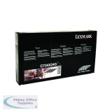 Lexmark Black/Colour C734 Photoconductor Unit (4 Pack) C734X24G
