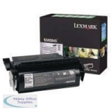 Lexmark Optra T 610 Return Programme High Yield Toner Black 12A5845