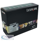Lexmark T630/T634 Return Programme Laser Toner Cartridge Black 21K Yield 12A7468