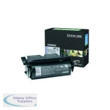 Lexmark T520/522 Return Programme High Yield Laser Toner Cartridge Black 20K Yield 12A6835