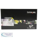 Lexmark C522N/C524 Toner Cartridge Yellow C5222YS