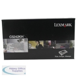 Lexmark C524/C534 Toner Cartridge High Yield Black C5242KH