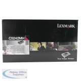 Lexmark C524/C534 Toner Cartridge High Yield Magenta C5242MH