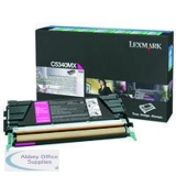 Lexmark C524/C534 Return Programme Toner Cartridge Magenta C5340MX