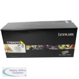 Lexmark C780/C782/X782E Laser Toner Cartridge Yellow C780A2YG