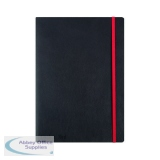 Black n\' Red Soft Cover Notebook B5 Black 400051203