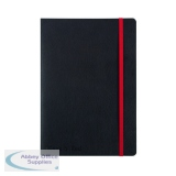 Black n\' Red Soft Cover Notebook A5 Black 400051204