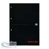 Black n\' Red A4 Executive Refill Pad Ruled Margin 300 Pages (3 Pack) 400051565