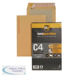 New Guardian Envelope C4 130gsm Board Back Peel and Seal Printed Please do not bend (15 Pack) 16-BUK-008