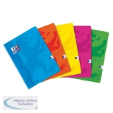 Oxford Touch Soft Cover Stapled Notebook A4 Assorted (5 Pack) 400088258
