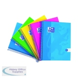 Oxford Touch Wirebound Hardback Notebook A4 Assorted (5 Pack) 400109986