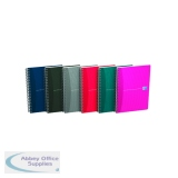 Oxford Card Cover Wirebound Notebook A5 Assorted (5 Pack) 100103741