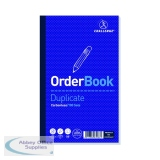 Challenge Carbonless Duplicate Order Book 100 Sets 210x130mm (5 Pack) 100080400