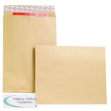 New Guardian Envelope Gusset Peel and Seal 406x305x25mm 130gsm Manilla (100 Pack) B27326