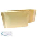 New Guardian Armour 470 x 300 x 70mm Manilla 130gsm Peel and Seal Gusset Envelope (100 Pack) B28513