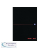 Black n\' Red A4 Executive Refill Pad Ruled Margin 100 Pages (10 Pack) 100100861