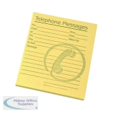 Challenge Yellow Telephone Message Pad 127 x 102mm (10 Pack) 100080477