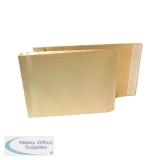 New Guardian Armour 381 x 279 x 50mm Manilla Pl/Sl Gusset Envelope (100 Pack) H28313