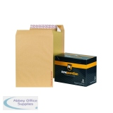 New Guardian Board Back C3 Envelope 130gsm Manilla Peel and Seal (50 Pack) K27926