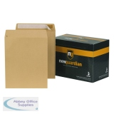 New Guardian Envelope 305 x 250mm 130gsm Manilla Peel and Seal (250 Pack) L27103