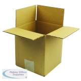 Single Wall Corrugated Dispatch Cartons 152x152x178mm Brown (25 Pack) SC-02