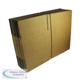 Single Wall Corrugated Dispatch Cartons 330x254x178mm Brown (25 Pack) SC-13