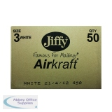 Jiffy AirKraft Bag Size 3 220x320mm White (50 Pack) JL-3