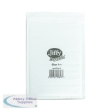 Jiffy Superlite Foam Lined Mailer Size 1 170x245mm White (200 Pack) MBSL02801