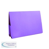 Exacompta Guildhall Mauve Double Pocket Legal Wallet Foolscap (25 Pack) 37214
