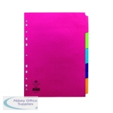 Concord 5-Part Subject Divider Bright A4 Assorted 50699