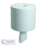 Wypall Wipers 1-Ply Centrefeed Roll White (6 Pack) 7266