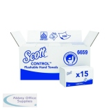 Scott 1-Ply Interfolded Performance Hand Towels 300 Sheets (15 Pack) 6659