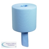 Wypall L10 Wiper Centrefeed Roll Blue (6 Pack) 7267